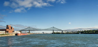 Jacques Cartier Bridge Stock Images