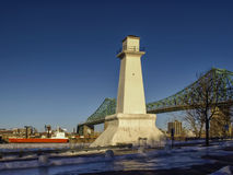 Jacques Cartier bridge Stock Photo