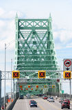 Jacques Cartier bridge Royalty Free Stock Image