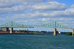 The Jacques Cartier Bridge Royalty Free Stock Photos
