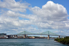 The Jacques Cartier Bridge Stock Photo
