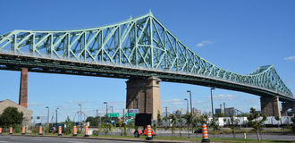 The Jacques Cartier Bridge Stock Photos
