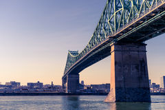 Jacques-Cartier Bridge in Montreal Royalty Free Stock Photography