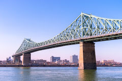 Jacques-Cartier Bridge in Montreal Royalty Free Stock Images