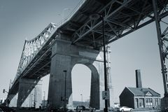 Jacques Cartier bridge Stock Photos