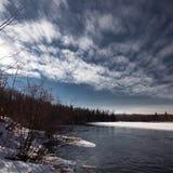 Jacques Cartier River Stockfotos