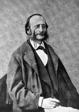Jacques Offenbach Foto de Stock Royalty Free