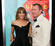 Jacqui Ainsley, Guy Ritchie Photographie stock
