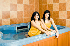 Jacuzzi Royalty Free Stock Photo