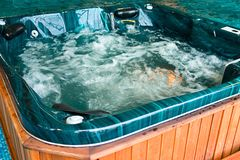 Jacuzzi Fotos de Stock Royalty Free