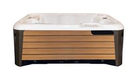 Jacuzzi bath isolated. On the white background royalty free stock photo