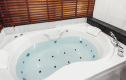 Jacuzzi bath tub stock images