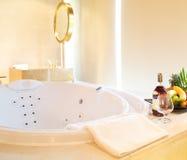 Jacuzzi bathtub Royalty Free Stock Photography