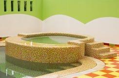 Jacuzzi. Bathtub in swimming pool Stock Image