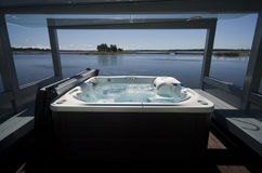 Jacuzzi by the beach. Stock Photography