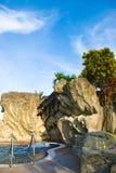 Jacuzzi esterna Fotografia Stock