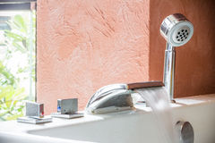 Jacuzzi faucet Royalty Free Stock Photo
