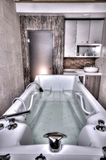Jacuzzi Spa Bathtub Royalty Free Stock Photography