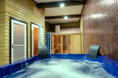 Jacuzzi Spa Bathtub Stock Photography