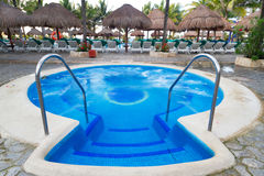 Jacuzzi tropical Images libres de droits