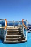 Jacuzzi Tub on a Caribbean Cruise Stock Photo