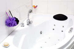 Jacuzzi tub Royalty Free Stock Photo