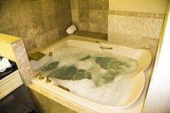 Jacuzzi w Luxus apartamencie, Las Vegas zdjęcie royalty free