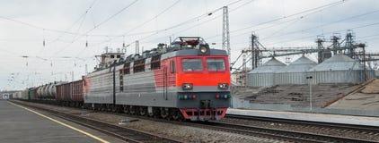 jadącego pociągu Fotografia Stock
