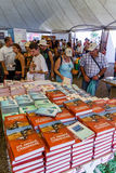 Jadł Amanha Camaradas książkę obraz royalty free