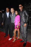Jada Pinkett Smith Jada Pinkett-Smith, Jamie Foxx, Jeremy Piven, Will Smith, Jeremy Pivens Arkivfoton