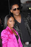 Jada Pinkett-Smith,Will Smith Royalty Free Stock Photos