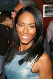 Jada Pinkett Smith. At the party to celebrate the 100th Episode of 'Dog Whisperer'. Boulevard 3, Hollywood, CA. 09-17-08 Royalty Free Stock Photos