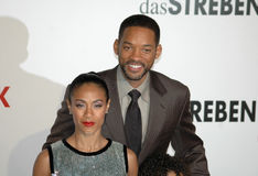 Jada Pinkett Smith, Will Smith lizenzfreies stockbild