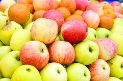 Jadalny zielony jabłko Obrazy Stock