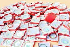 Jade bangle Stock Image