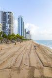 Jade Beach en Sunny Isles Beach Photos stock
