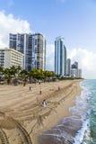 Jade Beach en Sunny Isles Beach en Floride Image libre de droits