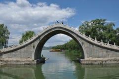 Jade Belt Bri nel palazzo di estate Pechino Fotografia Stock
