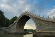 Jade-Belt Bridge. In the Summer Palace Beijing, China royalty free stock photography
