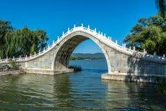 Jade belt bridge Royalty Free Stock Image