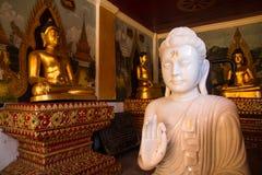 Jade blanc Bouddha Photo stock