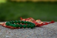 Jade Bracelet Royaltyfri Foto