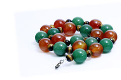 Jade Bracelet. Bead, Hand Craft Royalty Free Stock Images