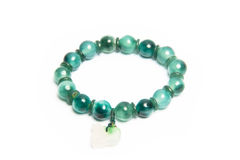 Jade bracelet Stock Photo