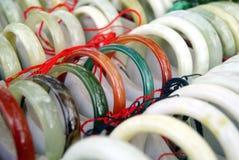 Jade bracelet Stock Image