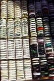 Jade bracelets Stock Photos