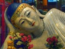 Jade Buddha arkivbild