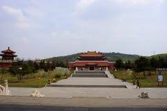 Jade Buddha Garden Pasillo permanece de los santos (Sheng Li) Foto de archivo