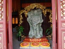 Jade Buddha Garden Pasillo permanece de los santos (Sheng Li) Imagenes de archivo