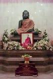 Jade Buddha-standbeeld Royalty-vrije Stock Afbeeldingen